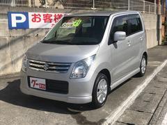 沖縄の中古車 スズキ ワゴンR 車両価格 55万円 リ済込 平成21年 6.0万K シルバー