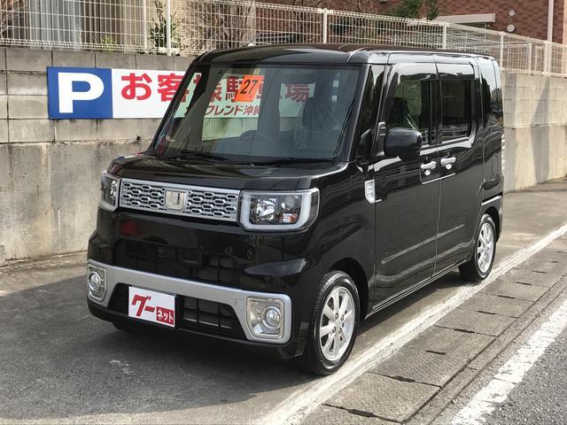 沖縄の中古車 ダイハツ ウェイク 車両価格 128万円 リ済込 平成27年 5.1万km ブラック