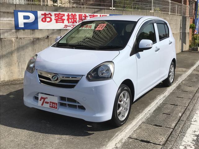 沖縄の中古車 ダイハツ ミライース 車両価格 59万円 リ済込 平成25年 3.1万km ライトブルー