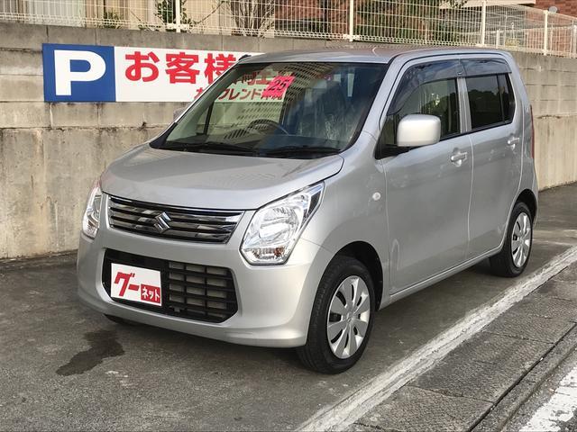 沖縄の中古車 スズキ ワゴンR 車両価格 65万円 リ済込 平成25年 2.6万km シルバー