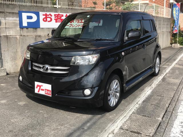 沖縄の中古車 トヨタ bB 車両価格 49万円 リ済込 2006(平成18)年 3.5万km ブラック
