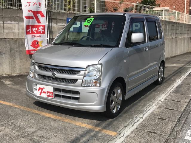 沖縄の中古車 スズキ ワゴンR 車両価格 28万円 リ済込 2006(平成18)年 7.0万km シルバー