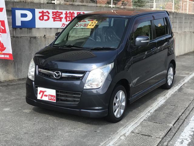 沖縄の中古車 マツダ AZワゴン 車両価格 48万円 リ済込 2010(平成22)年 9.6万km グレーM