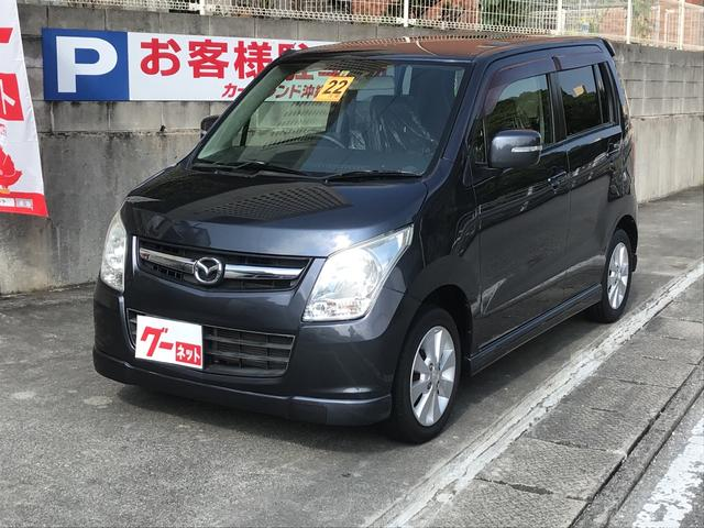 沖縄の中古車 マツダ AZワゴン 車両価格 45万円 リ済込 2010(平成22)年 9.6万km グレーM