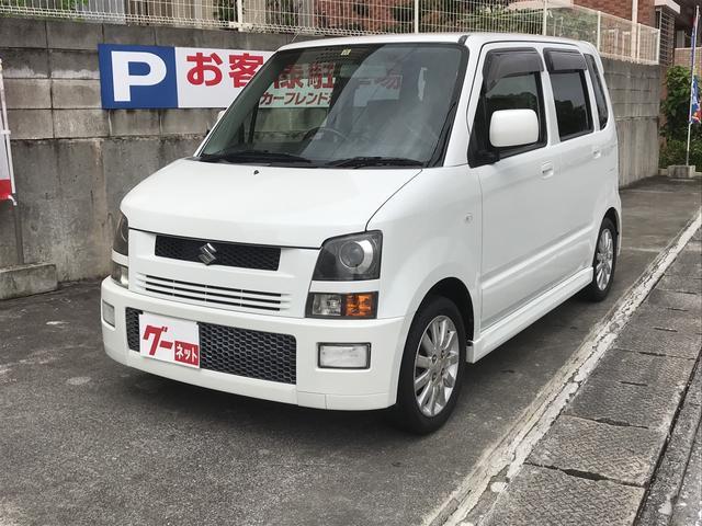 沖縄県の中古車ならワゴンR RR キーレス CD ベンチシート ターボ車