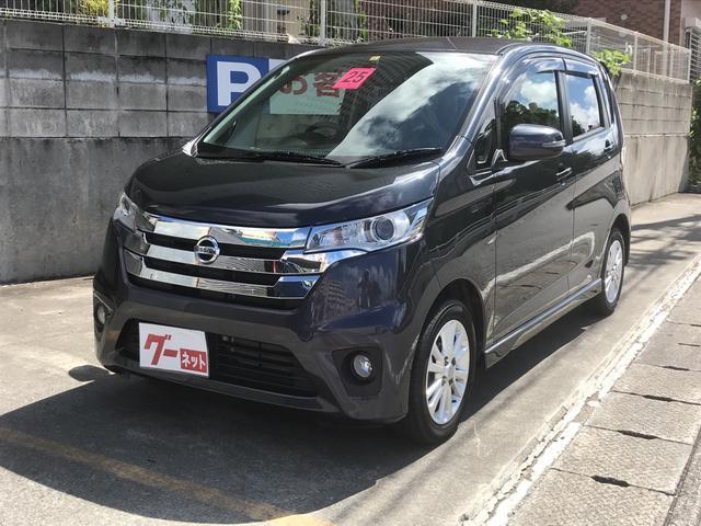 沖縄の中古車 日産 デイズ 車両価格 73万円 リ済込 2013(平成25)年 4.8万km ライトパープルM