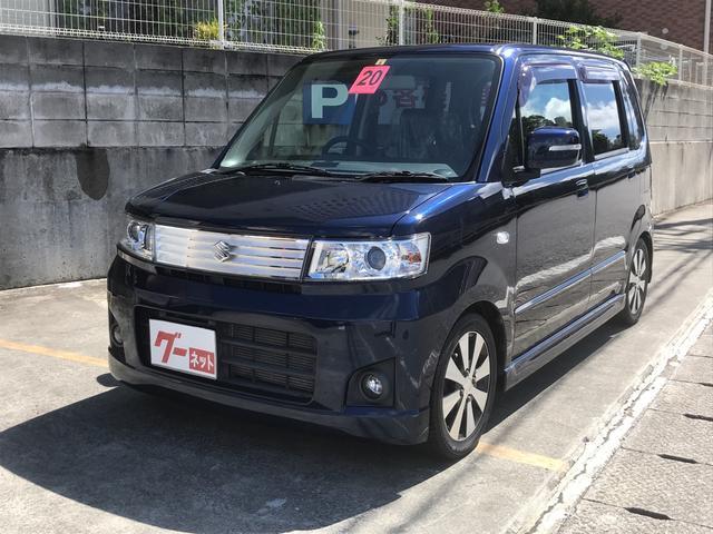 沖縄の中古車 スズキ ワゴンR 車両価格 45万円 リ済込 2008(平成20)年 4.1万km ブルーM