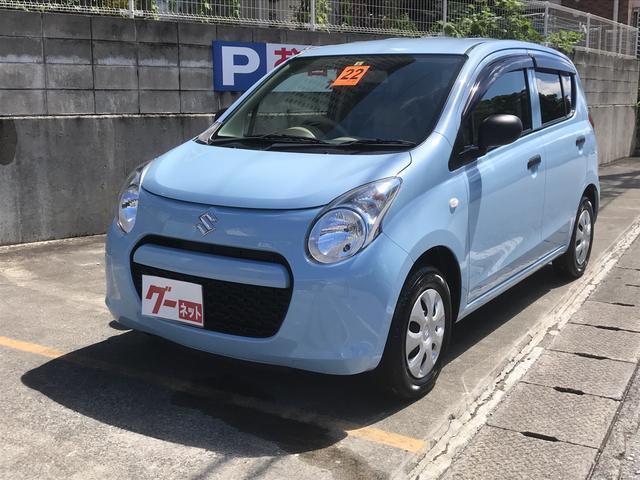 沖縄の中古車 スズキ アルト 車両価格 35万円 リ済込 2010(平成22)年 3.5万km ライトブルー