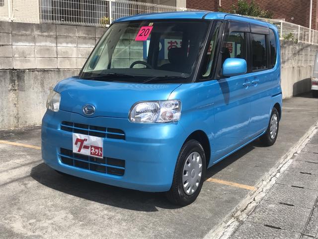 沖縄の中古車 ダイハツ タント 車両価格 45万円 リ済込 2008(平成20)年 8.0万km ライトブルー