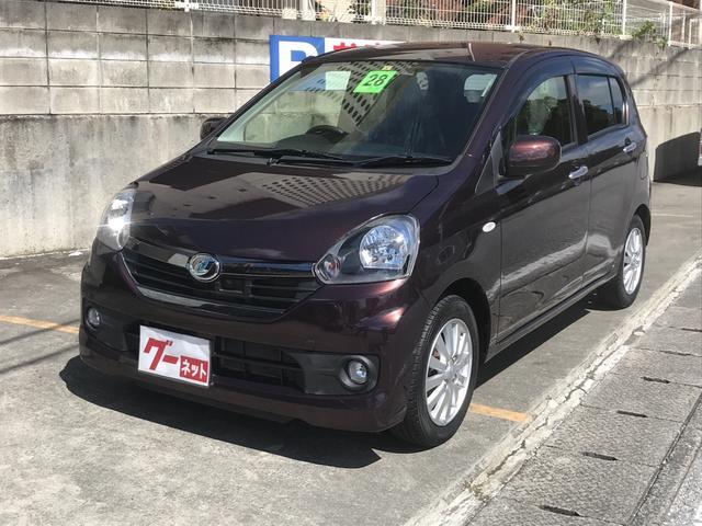 沖縄の中古車 ダイハツ ミライース 車両価格 69万円 リ済込 2016(平成28)年 2.9万km DブラウンM