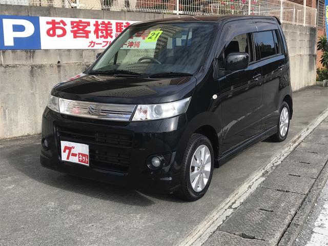 沖縄の中古車 スズキ ワゴンRスティングレー 車両価格 45万円 リ済込 2009(平成21)年 10.0万km ブラック
