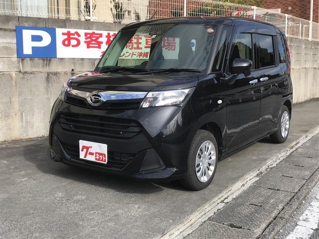 沖縄の中古車 ダイハツ トール 車両価格 145万円 リ済込 2019(平成31)年 1.4万km ブラック