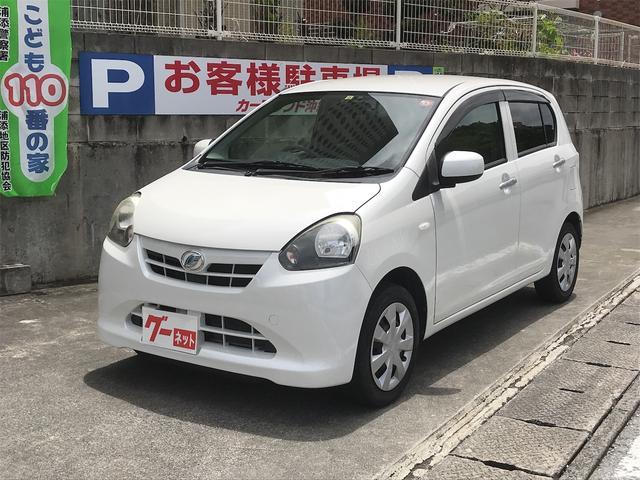 沖縄県浦添市の中古車ならミライース X キーレス CD ETC アイドリングストップ