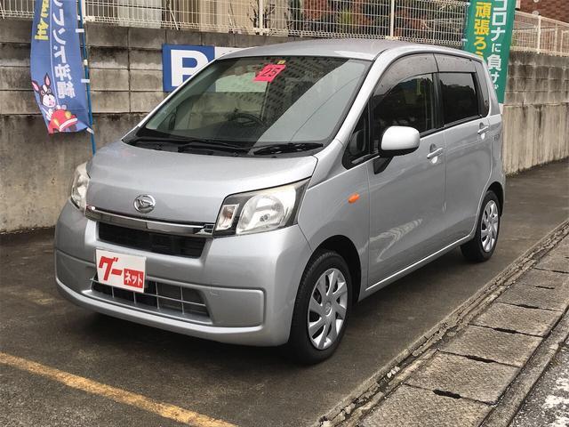 沖縄の中古車 ダイハツ ムーヴ 車両価格 48万円 リ済込 2013(平成25)年 5.0万km シルバー