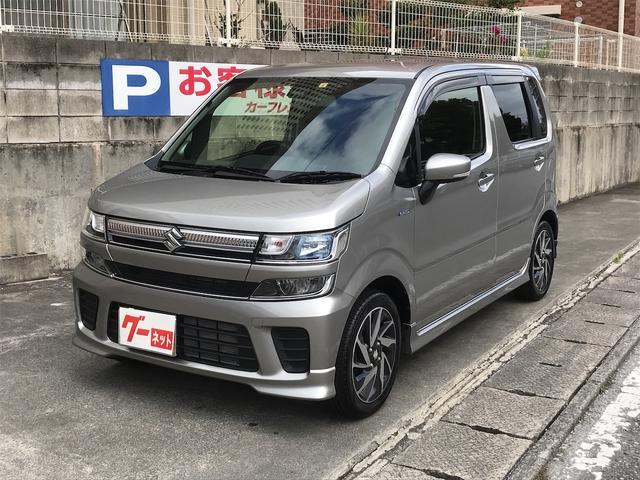 沖縄の中古車 スズキ ワゴンR 車両価格 137万円 リ済込 2019(令和1)年 0.6万km シルバー
