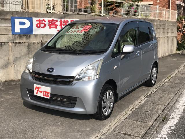 沖縄の中古車 スバル ステラ 車両価格 45万円 リ済込 2011(平成23)年 6.8万km シルバー