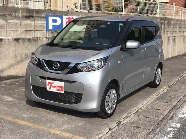 沖縄の中古車 日産 デイズ 車両価格 109万円 リ済込 2019(令和1)年 1.2万km シルバー
