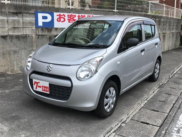 沖縄の中古車 スズキ アルト 車両価格 33万円 リ済込 2011(平成23)年 3.4万km シルバー