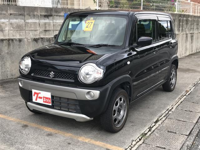 沖縄の中古車 スズキ ハスラー 車両価格 69万円 リ済込 2015(平成27)年 4.5万km ブラック
