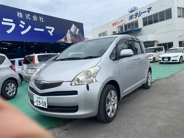 沖縄の中古車 トヨタ ラクティス 車両価格 25万円 リ済込 2010(平成22)年 6.0万km シルバー