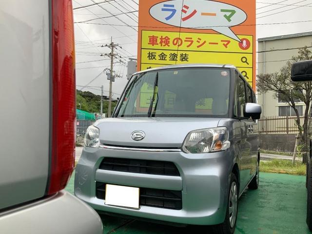 沖縄の中古車 ダイハツ タント 車両価格 64.9万円 リ済別 2015(平成27)年 7.0万km シルバーM