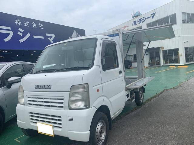 沖縄の中古車 スズキ キャリイトラック 車両価格 68万円 リ済込 2006(平成18)年 7.0万km ホワイト