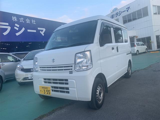 沖縄県の中古車ならエブリイ PCPC H/R 4輪ABSレーダーサポート装着車