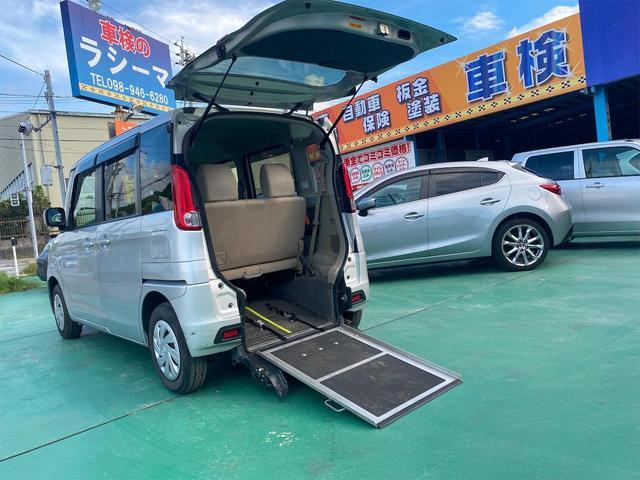 沖縄県の中古車ならフレア 車イス移動車 プッシュスタート オートエアコン