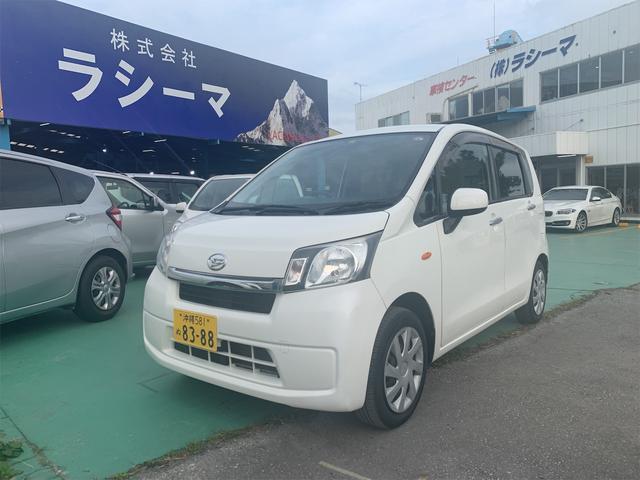沖縄の中古車 ダイハツ ムーヴ 車両価格 24万円 リ済込 2013(平成25)年 10.2万km ホワイト