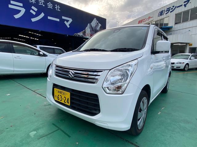 沖縄の中古車 スズキ ワゴンR 車両価格 39万円 リ済込 2013(平成25)年 11.3万km ホワイト