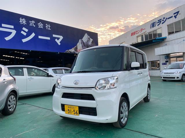沖縄の中古車 ダイハツ タント 車両価格 48.5万円 リ済込 2015(平成27)年 13.8万km ホワイト