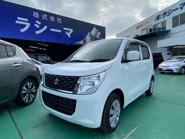 沖縄の中古車 スズキ ワゴンR 車両価格 47万円 リ済込 2015(平成27)年 12.2万km ホワイト