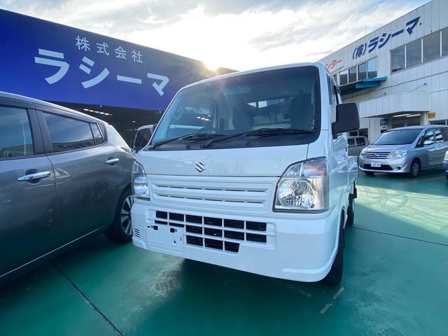 沖縄県の中古車ならキャリイトラック KCエアコン・パワステ ナビT.V バックカメラ ETC