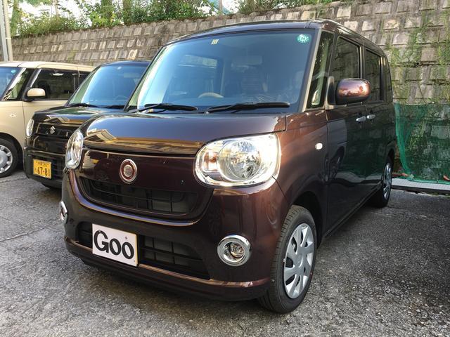 沖縄の中古車 ダイハツ ムーヴキャンバス 車両価格 109万円 リ済込 平成28年 1.0万km ブラウン