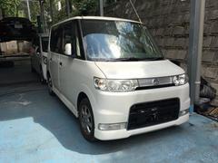 沖縄の中古車 ダイハツ タント 車両価格 35万円 リ済込 平成19年 9.0万K パールホワイト
