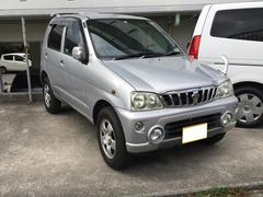 沖縄の中古車 ダイハツ テリオスキッド 車両価格 25万円 リ済込 平成14年 2.3万K シルバー