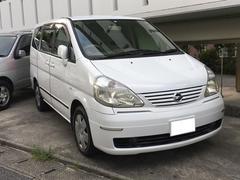 沖縄の中古車 日産 セレナ 車両価格 24万円 リ済別 平成14年 15.3万K ホワイト