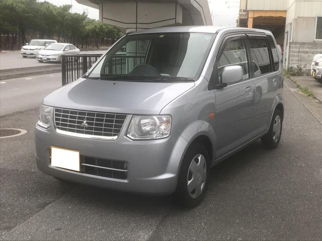 沖縄の中古車 三菱 eKワゴン 車両価格 35万円 リ済込 平成23年 2.3万km シルバー
