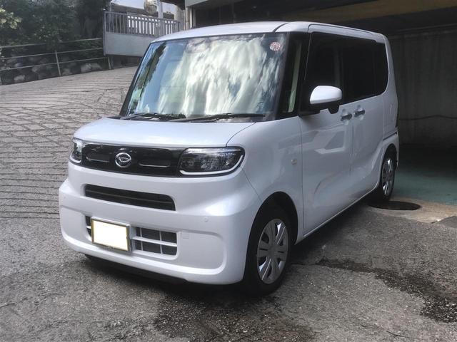沖縄の中古車 ダイハツ タント 車両価格 177万円 リ済込 2019(令和1)年 784km パールホワイト