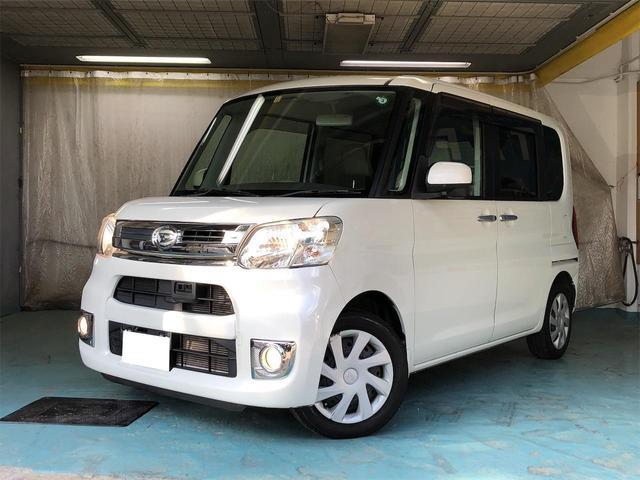 沖縄県那覇市の中古車ならタント Xターボ SA ワンオーナー 両側電動スライド スマートキー オーディオ オートエアコン