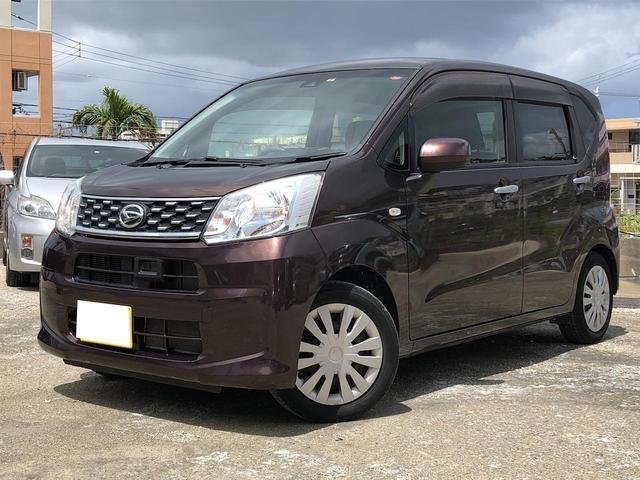 沖縄の中古車 ダイハツ ムーヴ 車両価格 79.9万円 リ済込 2016(平成28)年 6.2万km ブラウン