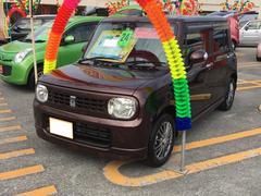 沖縄の中古車 スズキ アルトラパン 車両価格 69万円 リ済込 平成24年 8.1万K ブラウン