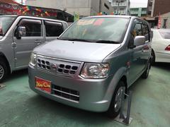 沖縄の中古車 日産 オッティ 車両価格 43万円 リ済込 平成23年 6.6万K シルバー