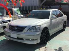 沖縄の中古車 トヨタ セルシオ 車両価格 88万円 リ済別 平成17年 10.7万K パールホワイト