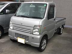 沖縄の中古車 スズキ キャリイトラック 車両価格 65万円 リ済別 平成24年 8.3万K シルバー