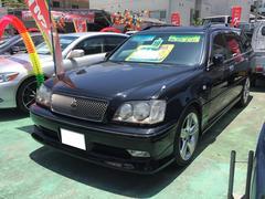 沖縄の中古車 トヨタ クラウンエステート 車両価格 89万円 リ済別 平成19年 12.7万K ブラック