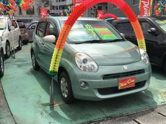 沖縄の中古車 トヨタ パッソ 車両価格 59万円 リ済別 平成22年 5.2万K ミントグリーン