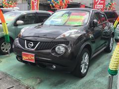 沖縄の中古車 日産 ジューク 車両価格 85万円 リ済別 平成22年 8.1万K ブラウンM