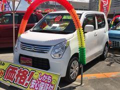 沖縄の中古車 スズキ ワゴンR 車両価格 59万円 リ済別 平成25年 3.8万K ホワイト