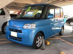 沖縄の中古車 ダイハツ タント 車両価格 49万円 リ済別 平成22年 8.7万K ブルー